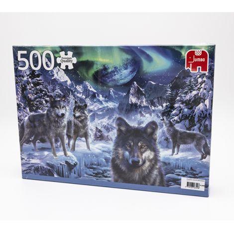 Puzzle loups en hiver - 500 pièces