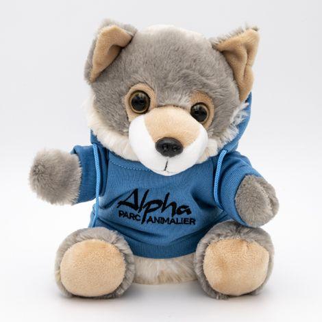 Hoody Loup T Shirt Alpha