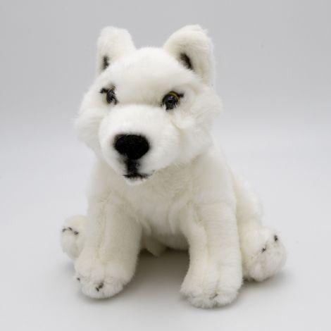 Loup Plan Blanc - 18cm