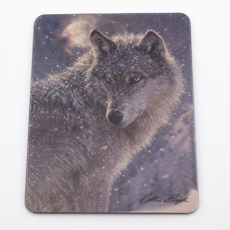 "Magnet 3D ""Loup seul"""