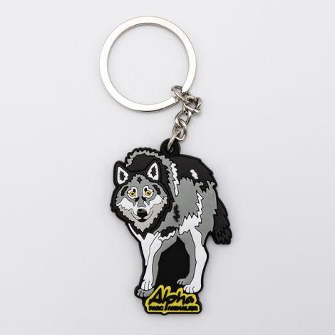 PC Loup Alpha en caoutchou