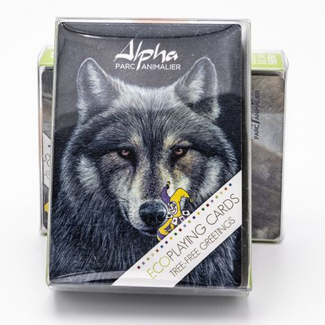 Jeu de cartes face Loup