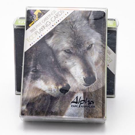 Jeu de cartes Couple loups