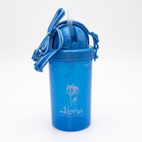 """Gourde Alpha """"ocean bleu"""""""