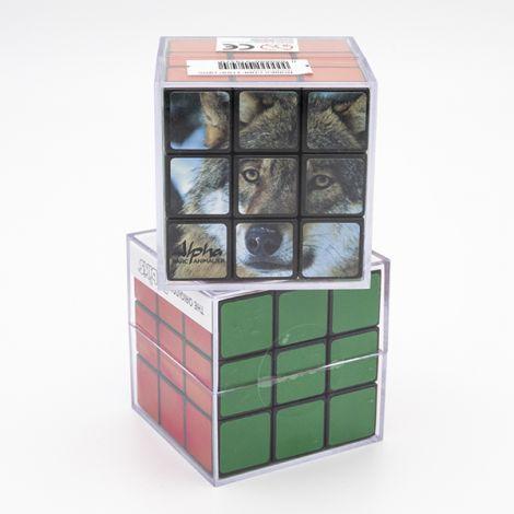 "Rubik's cube ""Loup gris Alpha"""