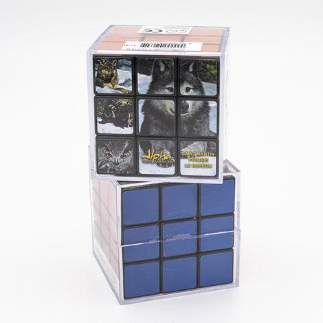 "Rubik's cube ""Loup canadien Alpha"""
