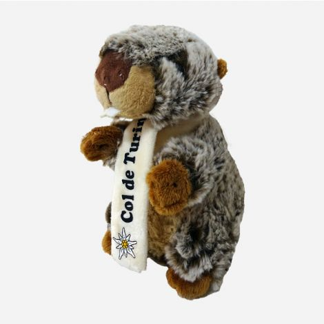 Marmotte  & Echarpe Col de Turini