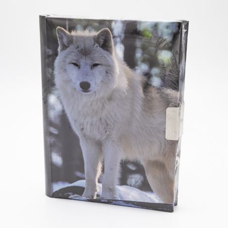 Journal secret Loup blanc Debout