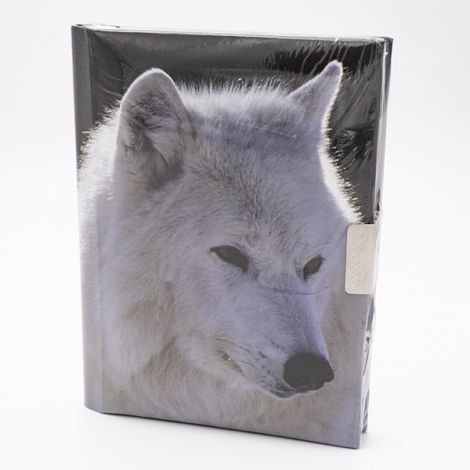 Journal secret Loup blanc Tête