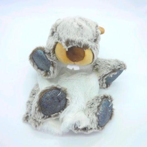 Marionnette marmotte 25 cm