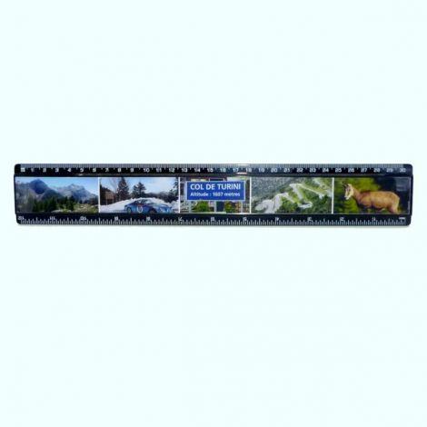Règle Noire 30 cm - Col de Turini