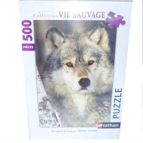 Puzzle Regard du loup - 500 pièces